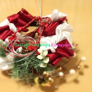 クリスマス&ニューイヤーリボンリースワークショップ